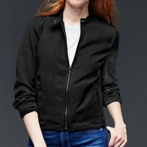 NWT Gap | Black Tencel Jacket